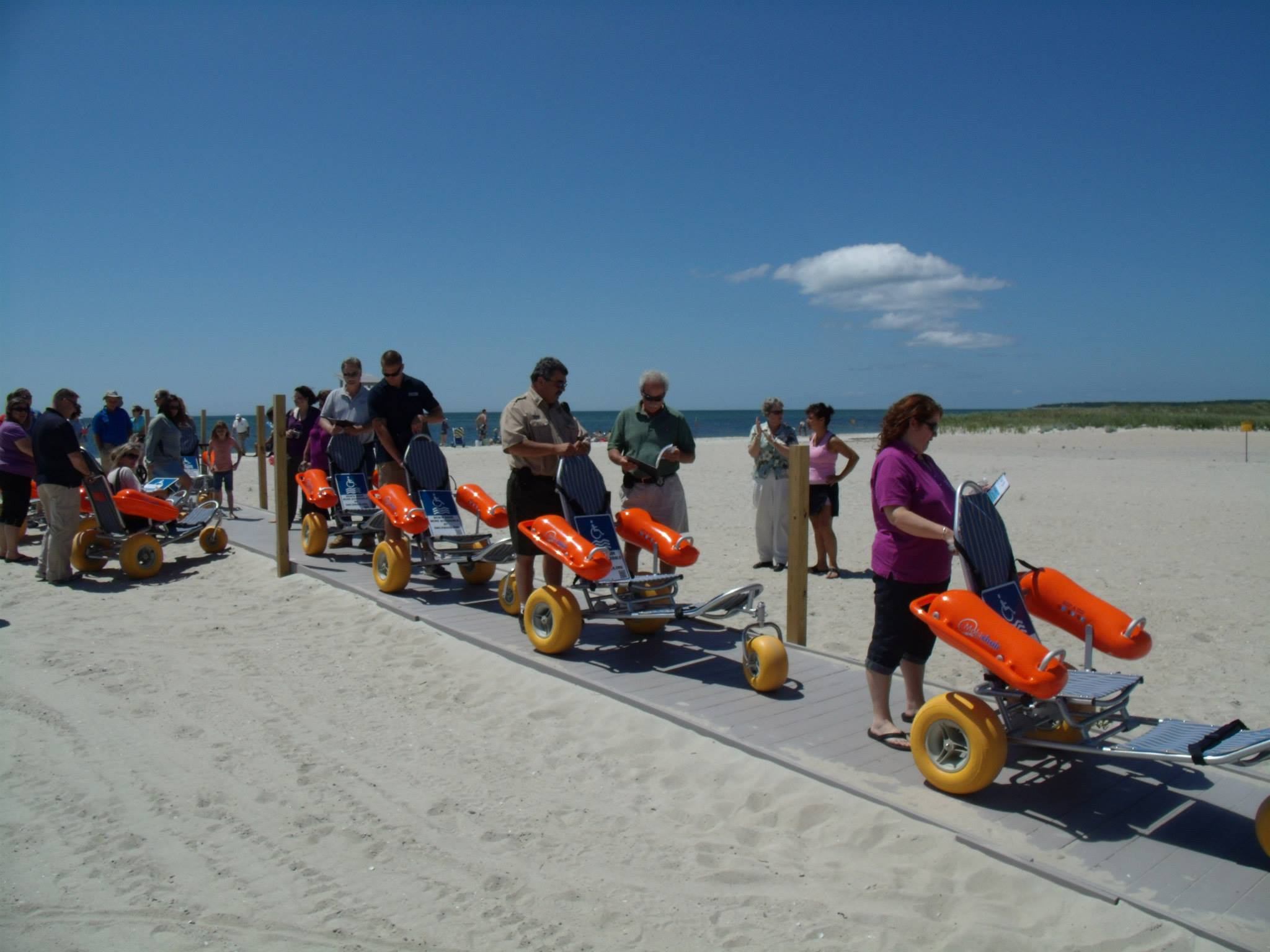 Local Beach Wheelchair Locations - Smile Mass